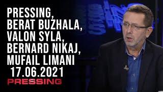 PRESSING, Berat Buzhala, Valon Syla, Bernard Nikaj, Mufail Limani - 17.06.2021