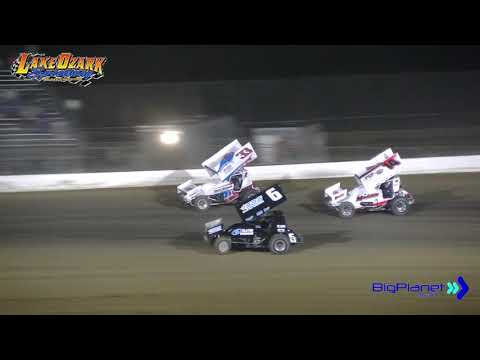 Lake Ozark Speedway 360 Sprints Nationals 360 Sprints Winged B Feature 2