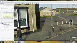 google earth tour of great harwood uk