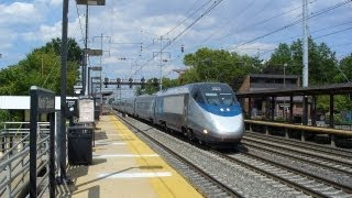 Amtrak, NJT Parade of Trains II: Two Hours and 20 Trains at Princeton Junction