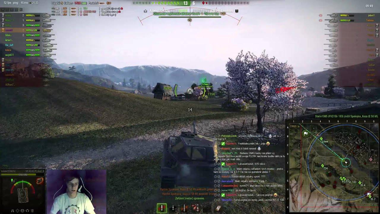 Download World of Tanks CZ - Záznam ze streamu z 6.3.2015