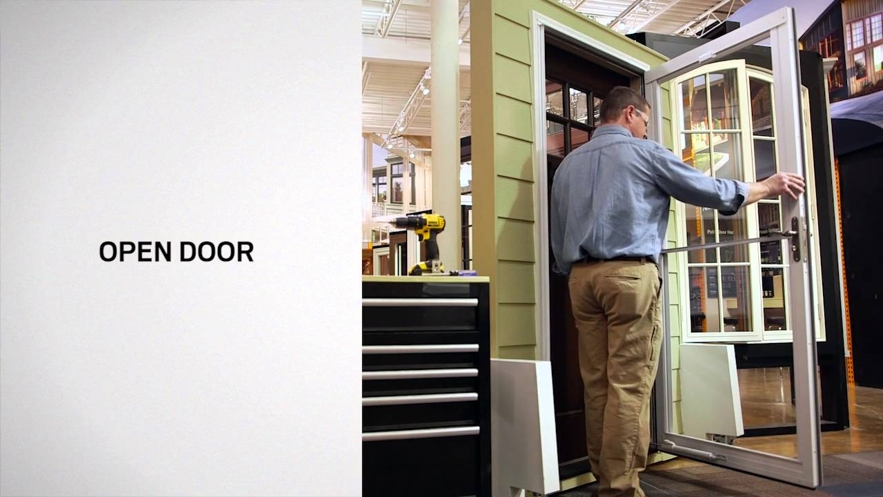 Stationary Window Replacement on Andersen® Full-Lite Self-Storing ...