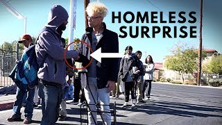 Homeless Man Surprises Everyone for Thanksgiving ***EMOTIONAL
