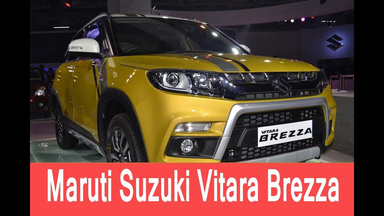 Maruti Suzuki Vitara Brezza Price In India Review Test Drive