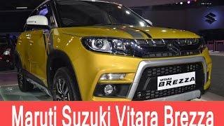 maruti suzuki vitara brezza price in india review test drive   smart drive 24 apr 2016