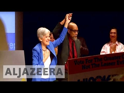 US election: Green Party picks Jill Stein as presidential candidate