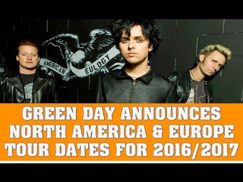 green day announces north america and europe tour dates for 2016 2017 for revolution radio. Black Bedroom Furniture Sets. Home Design Ideas