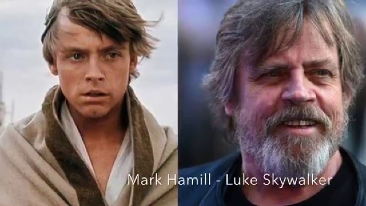 Star Wars Characters: Then And Now - YouTube