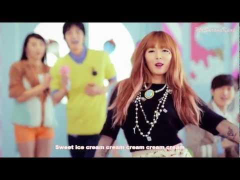 Eng Sub   Hyuna - 'Ice Cream' MV [HD]