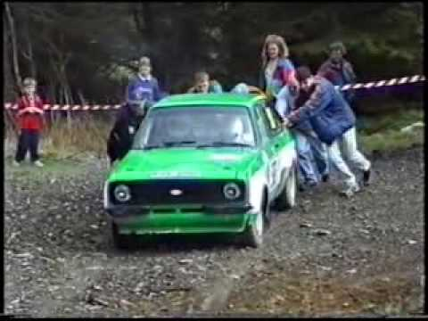 Ford Escort Cambrian Rally Compilation Youtube