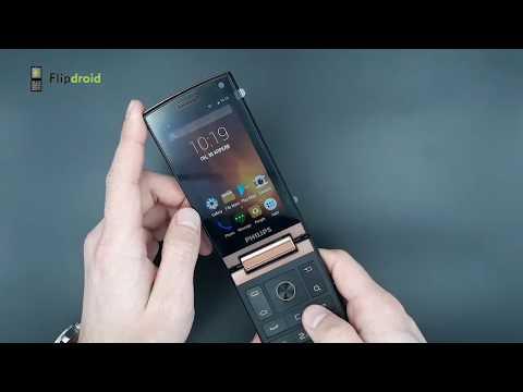 Смартфон раскладушка Philips Xenium V989! Самый крутой среди раскладушек!