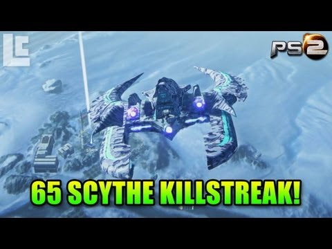 Scythe 65 Killstreak Uncut (Planetside 2 Gameplay/Commentary)