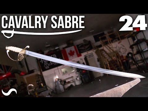 MAKING THE CAVALRY SABRE: Part 24!!! FINISHED!!!