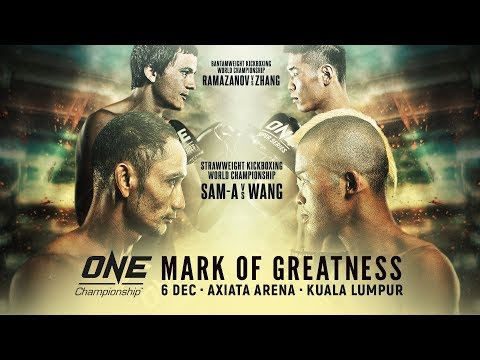[Full Event] ONE Championship: MARK OF GREATNESS
