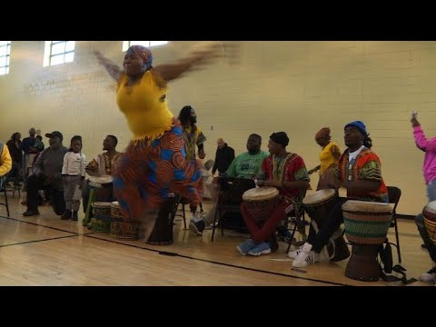 African-Americans Celebrate Kwanzaa In US Capital