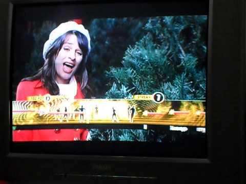 Cantando Glee - GLEE KARAOKE REVOLUTION XBOX 360 - Last Christmas - Pontuação máxima