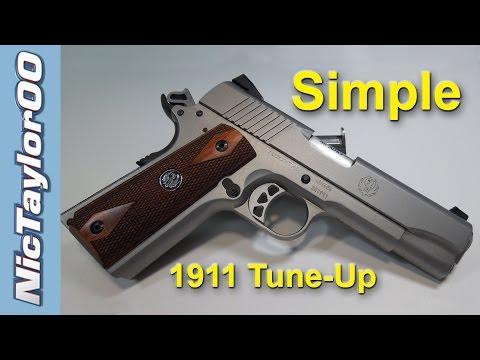 New 1911 Frame & Slide Adjustment - Super Fast Break In