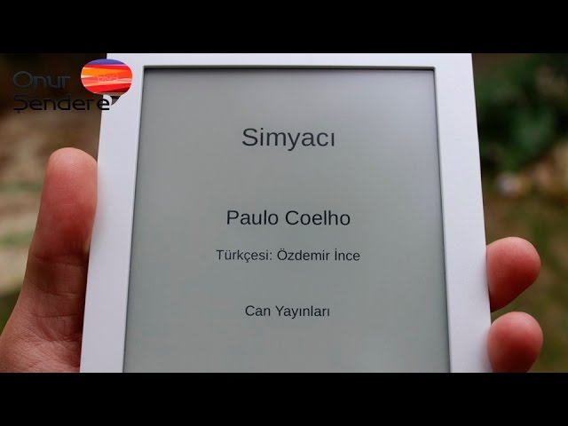 Calibro Touch Lux E-Kitap Okuyucu ?ncelemesi