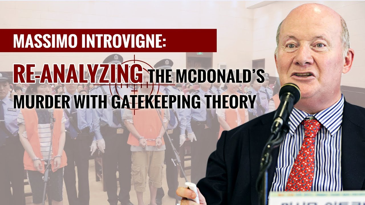 Re-analyzing the McDonald's Murder With Gatekeeping Theory
