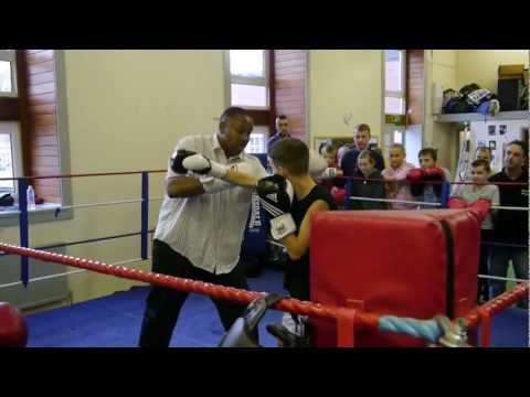 tim witherspoon sparring