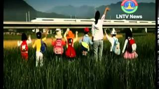 Lao NEWS on LNTV-Minister Sommad Pholsena says Laos-China rail project
