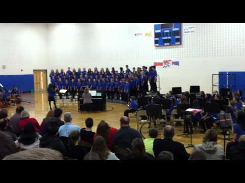 Olentangy Orange Middle School Choir - I've Got The Music I