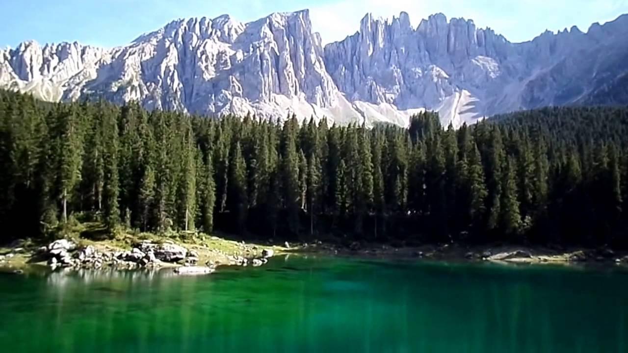 Lago di carezza trentino alto adige youtube for Arredamento trentino alto adige