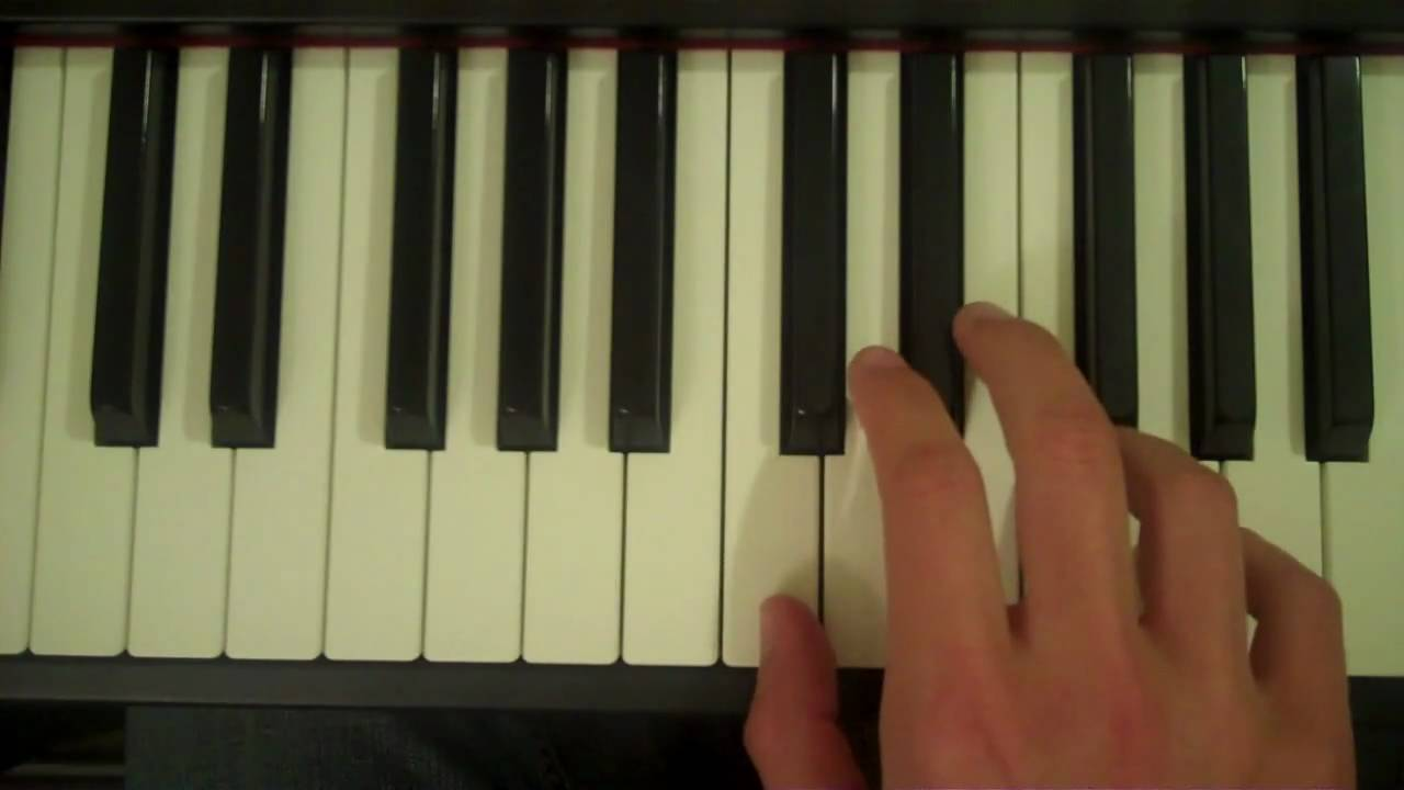 How To Play A Csus4 Chord On Piano