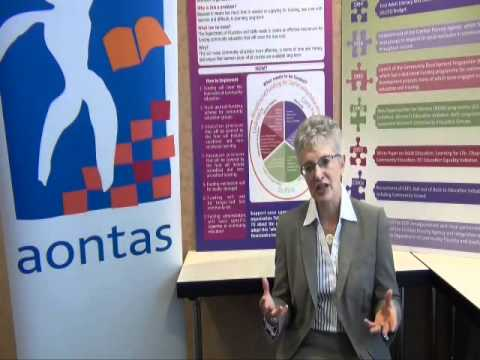 Katherine Zappone talks about her input at the AONTAS Community Education Conference