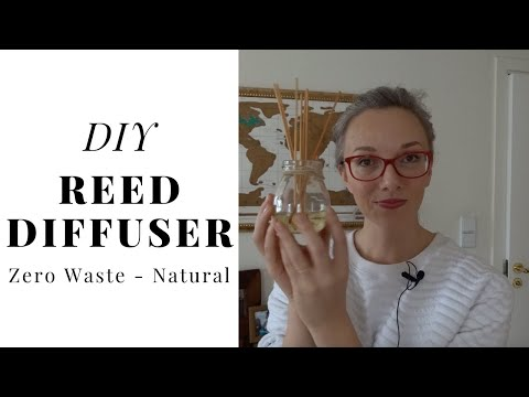 DIY ZERO WASTE ESSENTIAL OIL DIFFUSER || MAKE YOUR HOME SMELLS AMAZING - YouTube