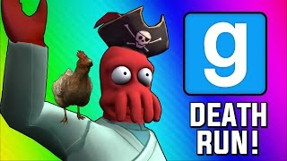 Gmod Deathrun Funny Moments - Pirate Ship of Death! (Garry