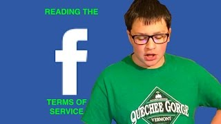 READING FACEBOOK TERMS OF SERVICE (YOU WONT BELIEVE THIS)