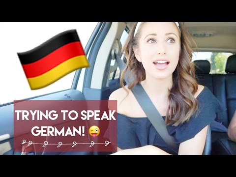 Did you know that I'm German!?! | Let me TRY teaching you German. | Vlog #03