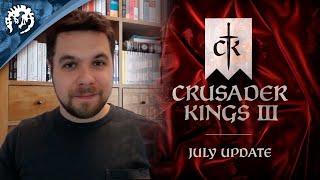 Crusader Kings 3 - July Update