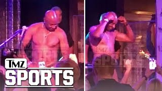 Jerry Rice Busts Out Topless Tahoe Stripper Moves Again | TMZ Sports