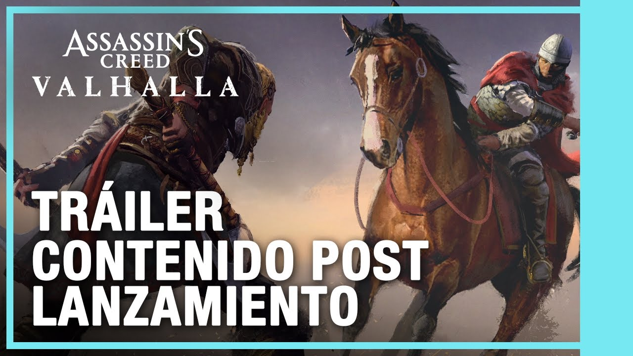Assassin's Creed Valhalla – Mapa Post Lanzamiento y Pase de Temporada [Tráiler]