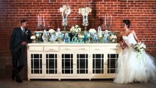 Sacramento Bride & Groom Photo Shoot at the Willow Ballroom at River Road Exchange