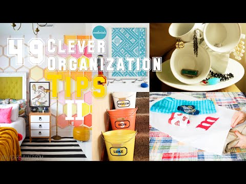 49 Clever Organizing Tips (Part 2)
