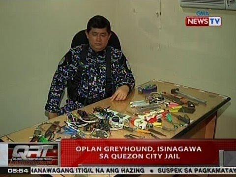 QRT: Oplan Greyhound, isinagawa sa Quezon City Jail