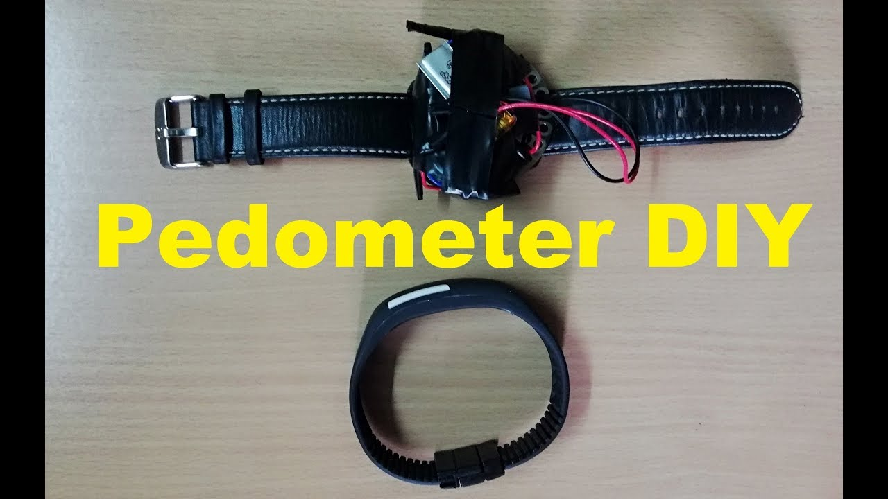 How to make Pedometer with Arduino || Pedometer Project || Fitness band DIY