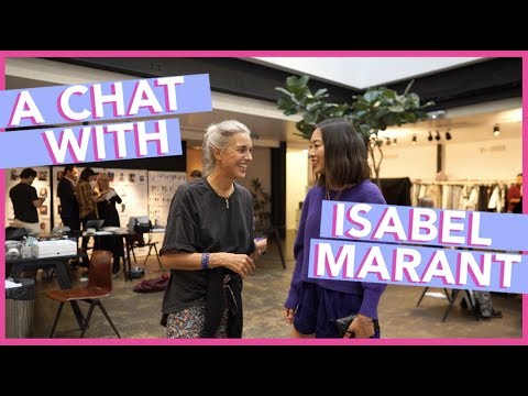 #PFW: A Chat with Isabel Marant  Aimee Song