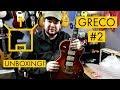 UNBOXING: My New Japanese Guitar: Greco EG-600 Les Paul Custom Copy!