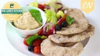Homemade Fluffy Pita Bread Recipe || William's Kitchen