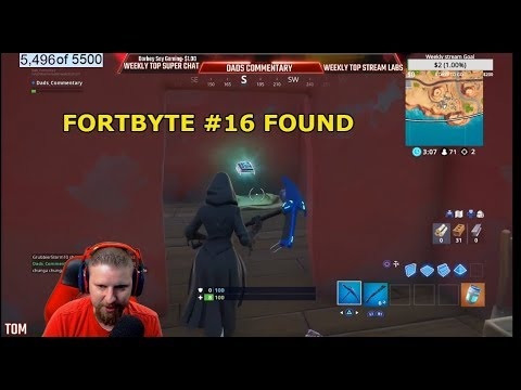 FORTNITE FORBYTE #16 LOCATION FOUND IN A DESERT HOUSE WITH TOO MANY CHAIRS