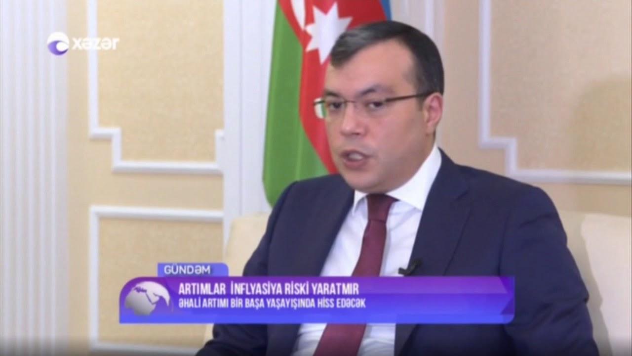 əmək Və əhalinin Sosial Mudafiəsi Naziri Sahil Babayev Xəzər Tv Nin Gundəm Verilisinin Qonagi Olub Youtube