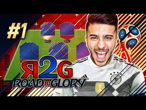 INSANE STARTER PACK! WHAT AN AMAZING START! - FIFA 18 WORLD CUP ROAD TO GLORY EPISODE 1!