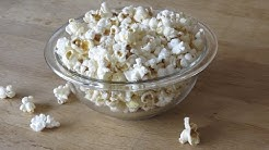 How To Make Yummy Popcorn with Coconut Oil!