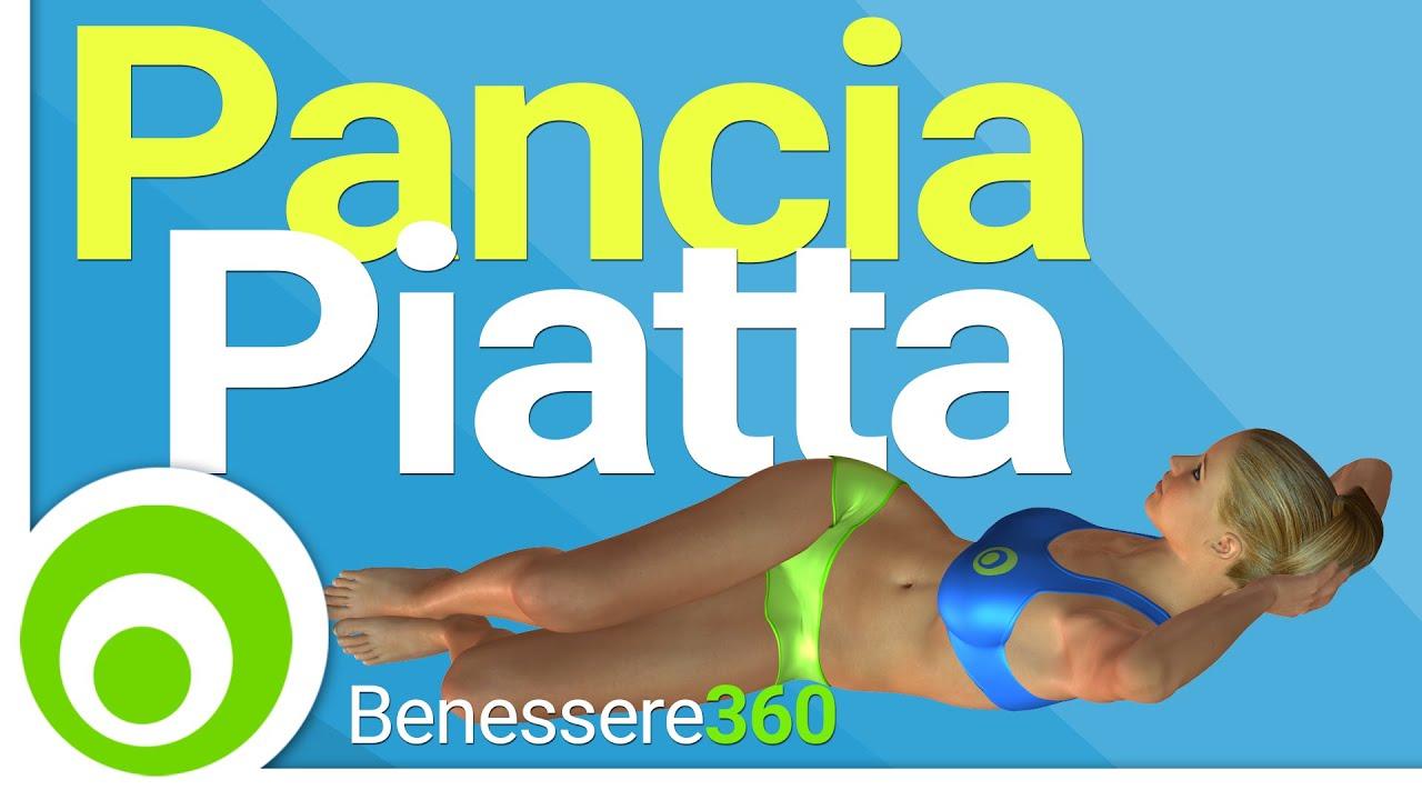 Pancia piatta in 10 minuti esercizi per dimagrire la for Dimagrire interno coscia benessere 360