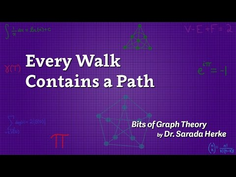 Graph Theory: 18. Every Walk Contains a Path