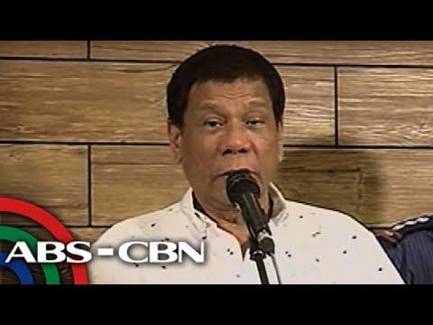 TV Patrol: Duterte, nakipagpulong kay Nur Misuari